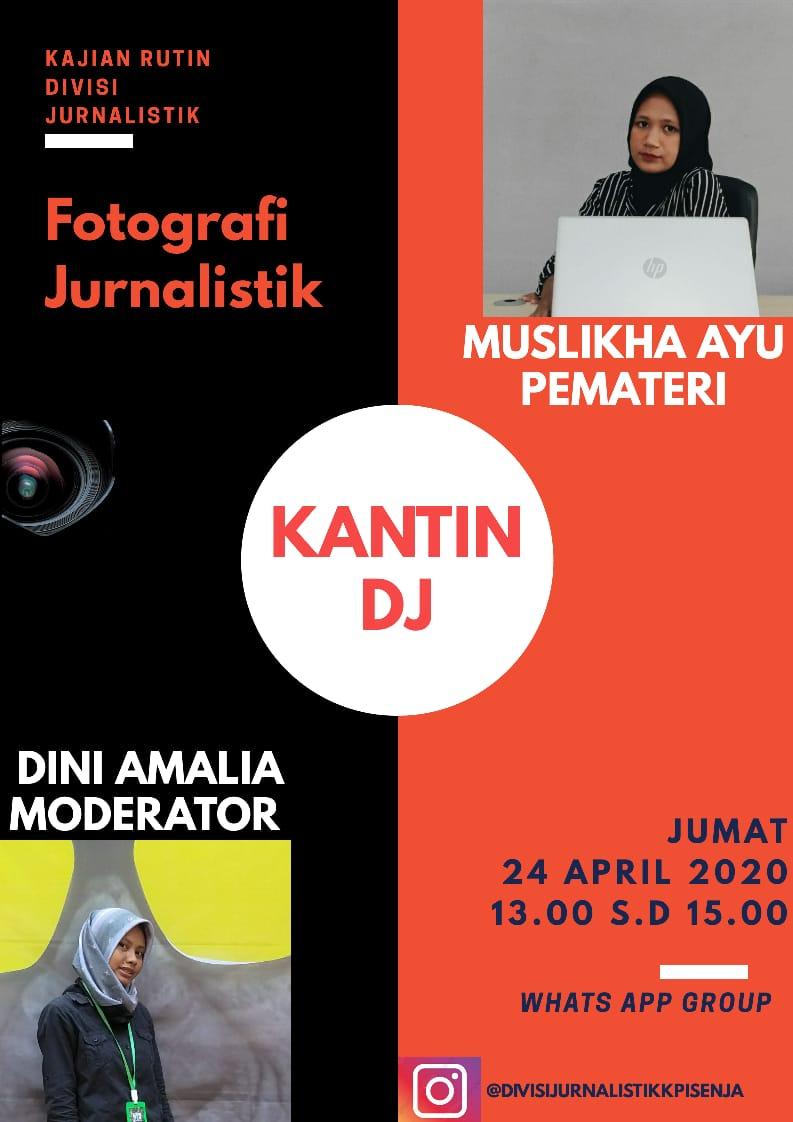 Diskusi Virtual (Fotgrafi Jurnalistik)